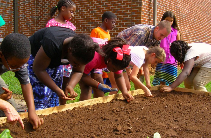 Boys & Girls Clubs Community Garden